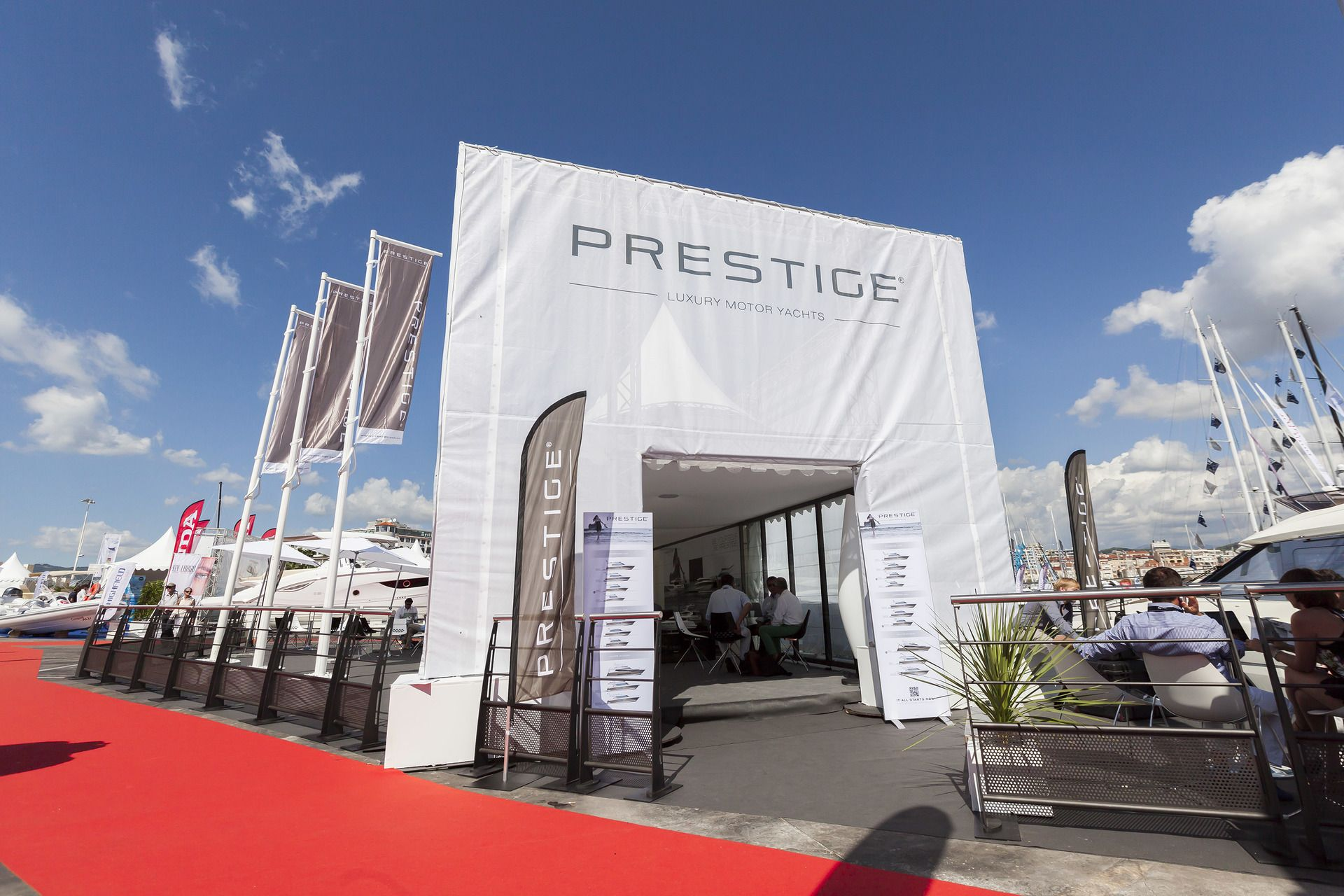 prestige au salon de cannes