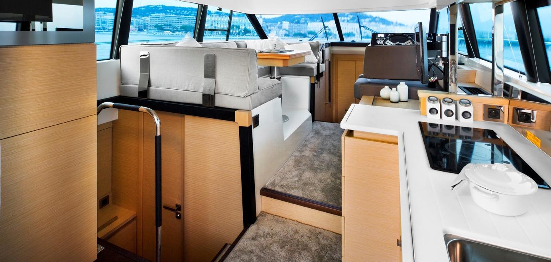 Yachten von innen  Yacht PRESTIGE 420 S, luxus motoryacht Coupé Line
