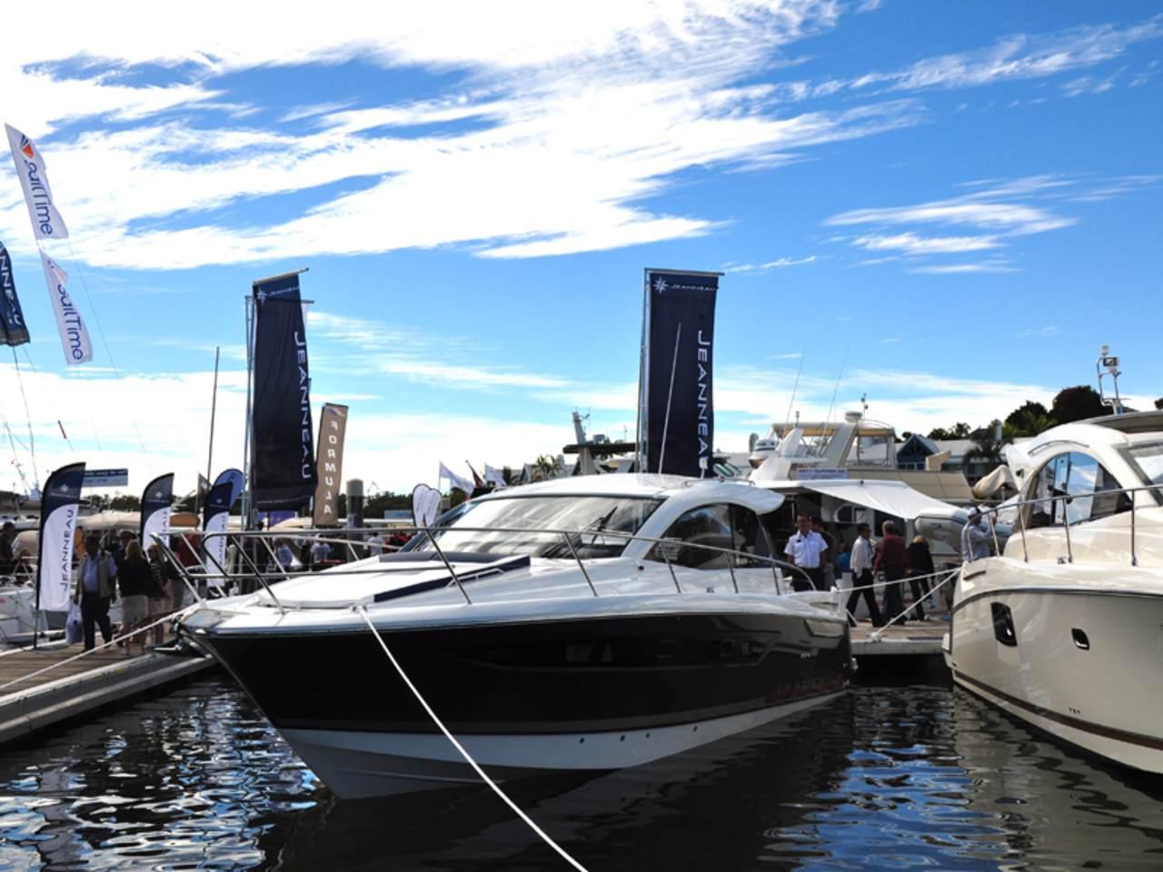 Prestige in Sanctuary Cove boat show 2012 4