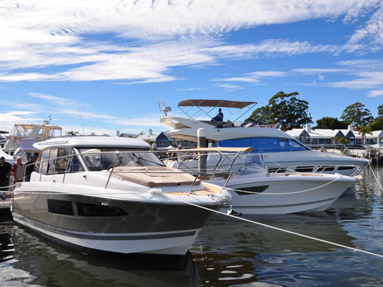 Prestige in Sanctuary Cove boat show 2012 5