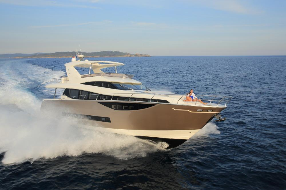 TWO AWARDS FOR THE PRESTIGE 750 AT THE PRESTIGIOUS 2014 WORLD YACHTS TROPHIES 1