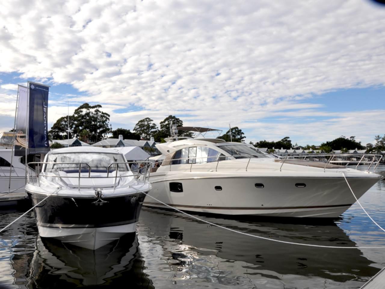Prestige in Sanctuary Cove boat show 2012 1
