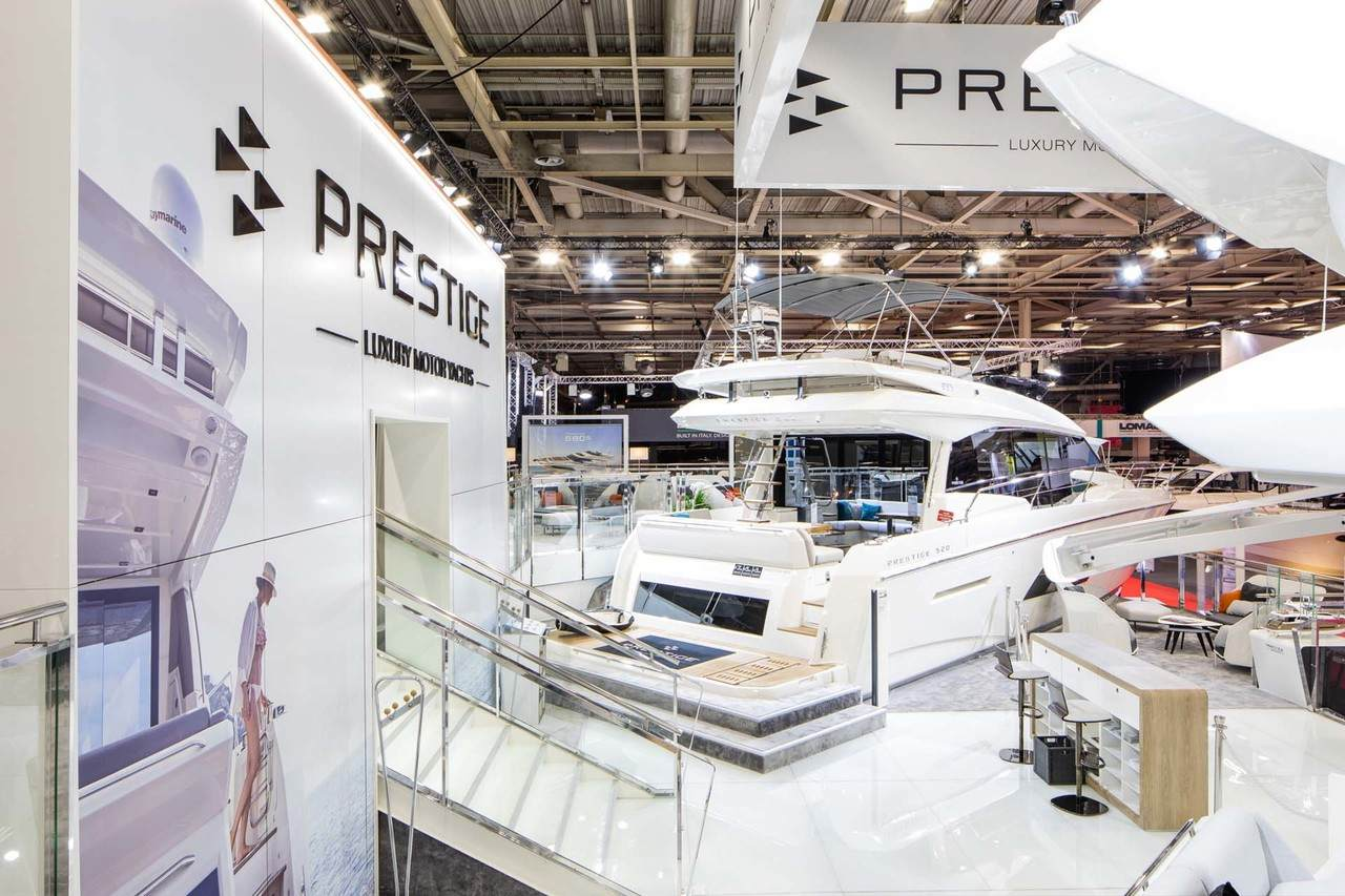 Prestige at Paris Boat Show 4