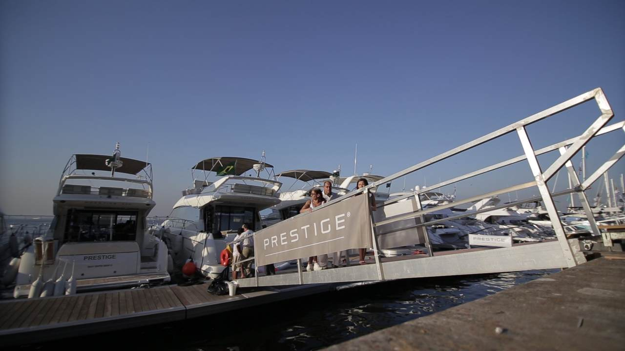 Prestige, one of the top brands in the luxury yacht world in Brazil 1