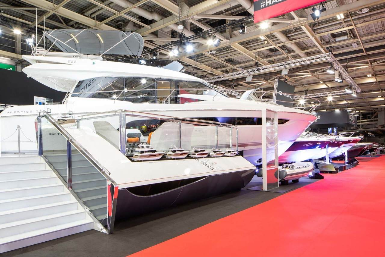 Prestige at Paris Boat Show 1