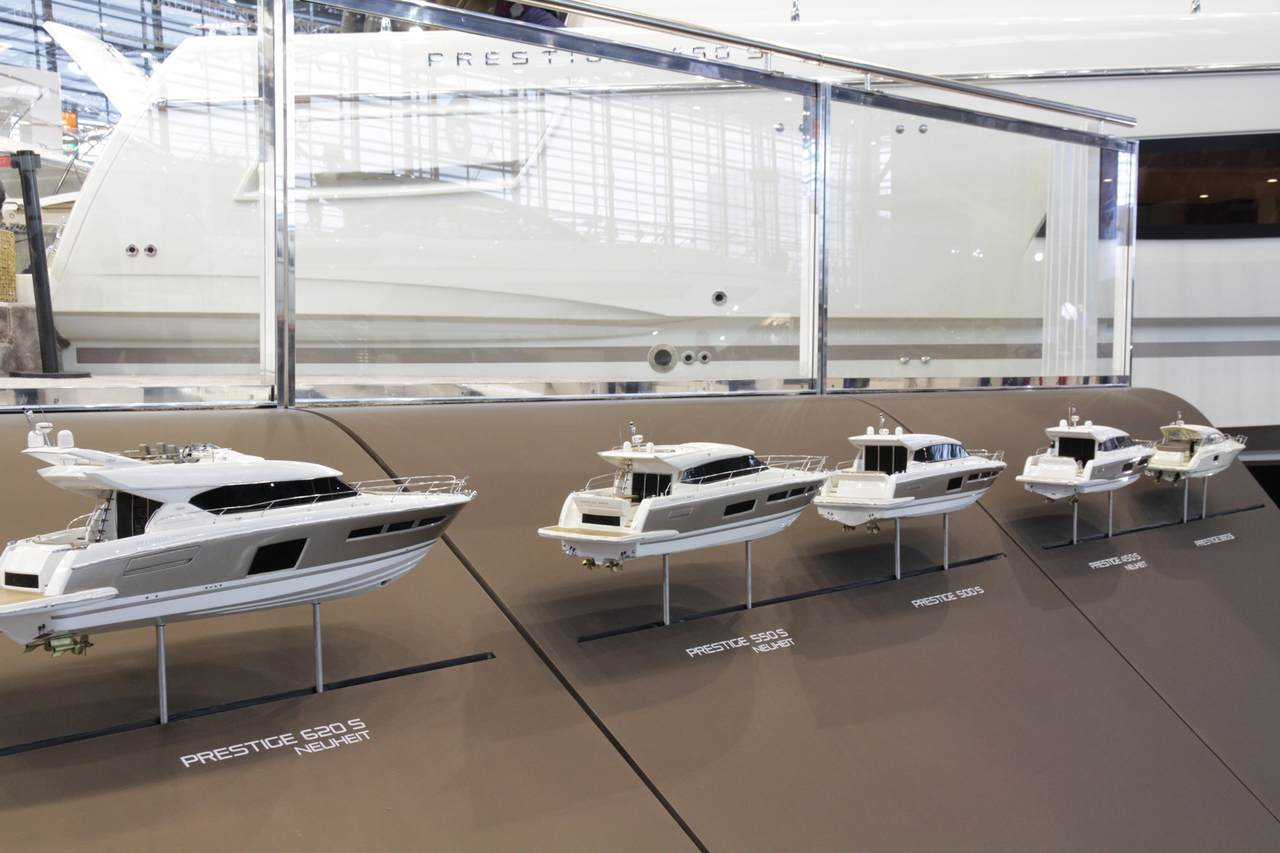 All-New PRESTIGE 450 S and 550 S Make World Debut 9