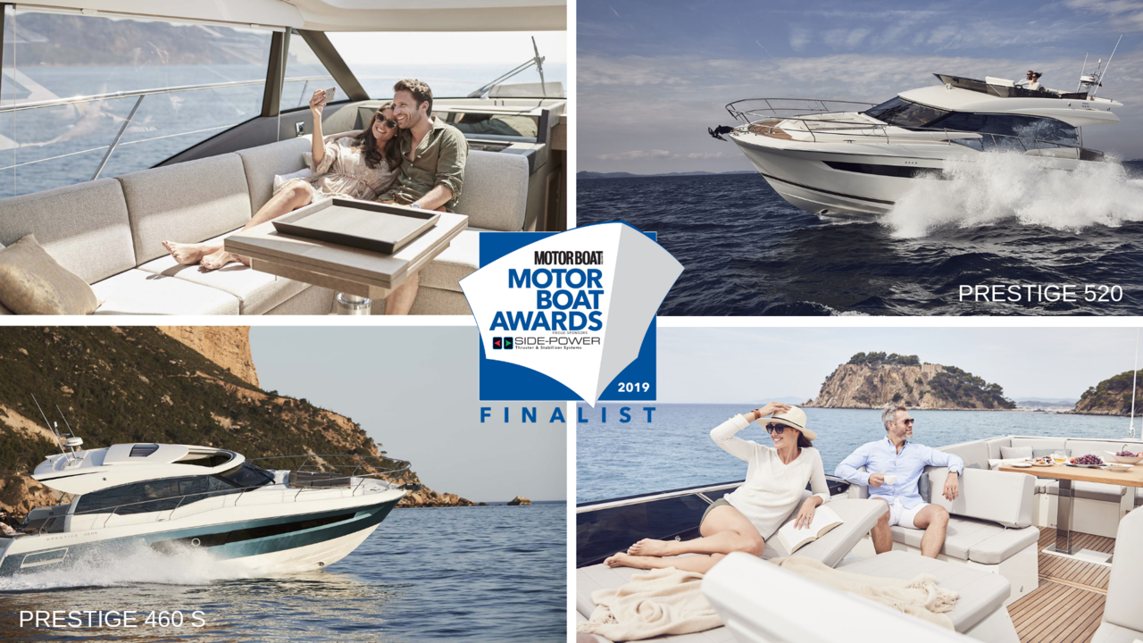 Two new PRESTIGE models nominated for 2019 Motor Boat of the Year Awards 1