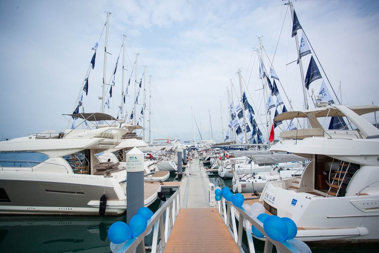 Drittes Treffen von Eigentümern von Jeanneau und PRESTIGE Yachten in China 1