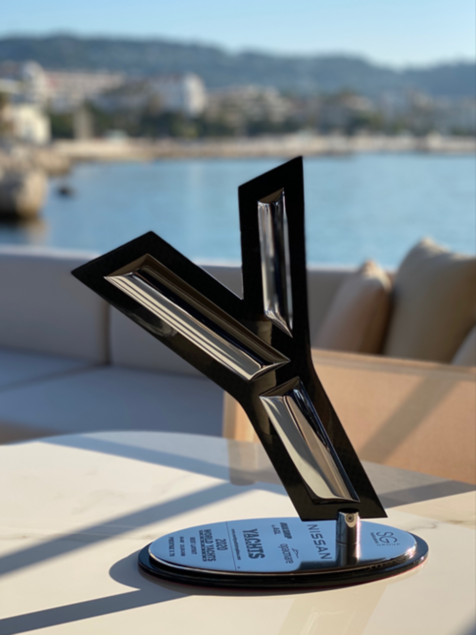 L'X70 premiato ai World Yacht Trophies 2020 2