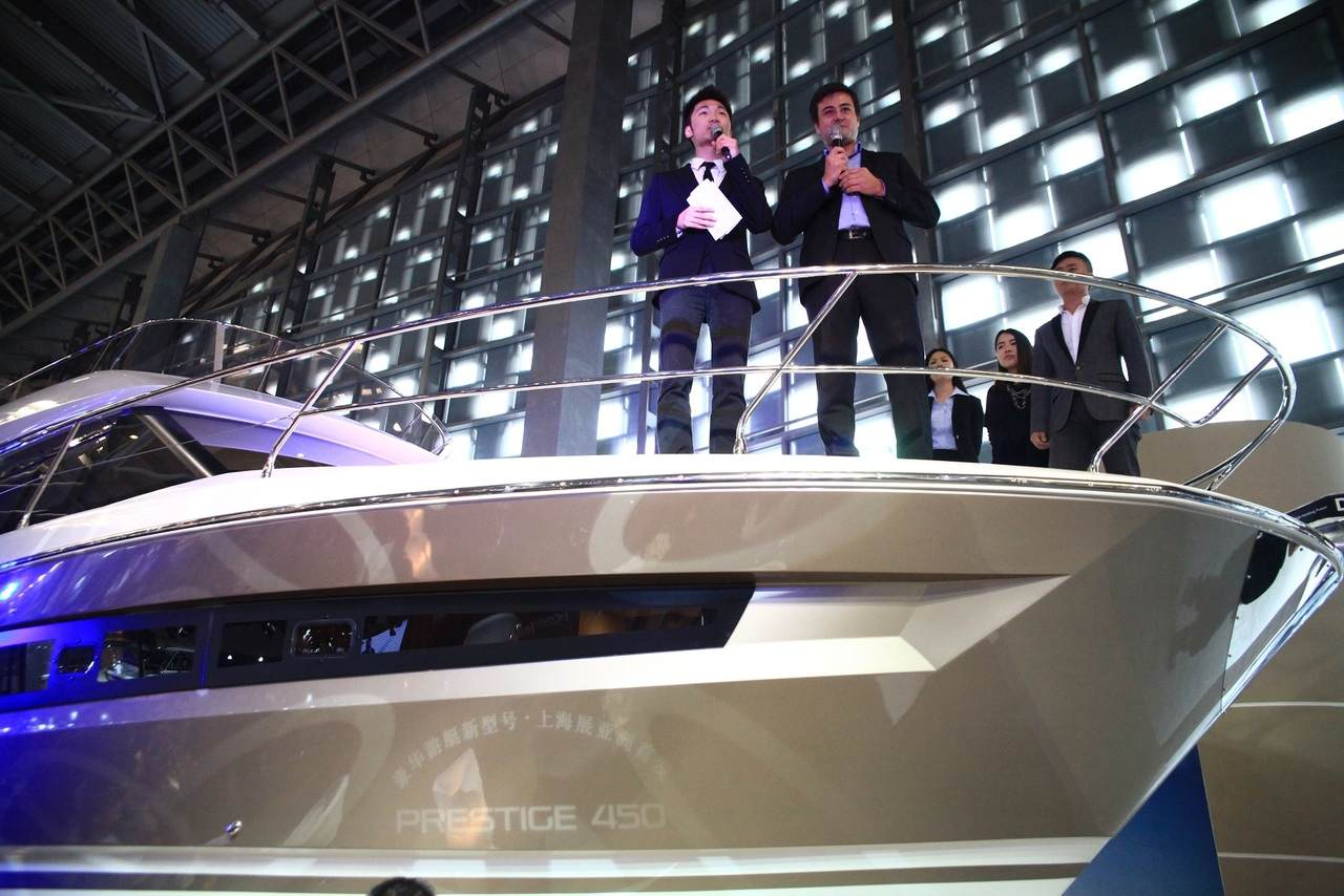 Spotlight on the PRESTIGE 450 at Shanghai Boat Show 2014 7