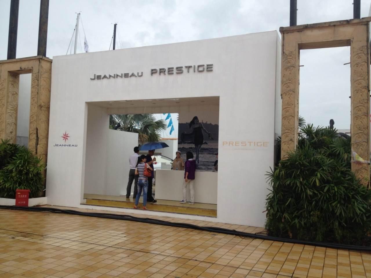 Jeanneau and Prestige in Hainan Rendez-vous boatshow 4