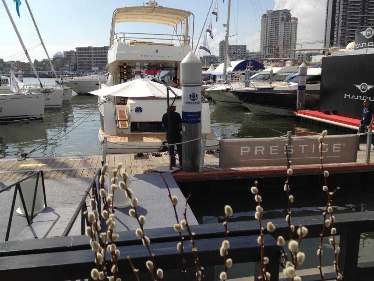 Jeanneau and Prestige in Hainan Rendez-vous boatshow 3