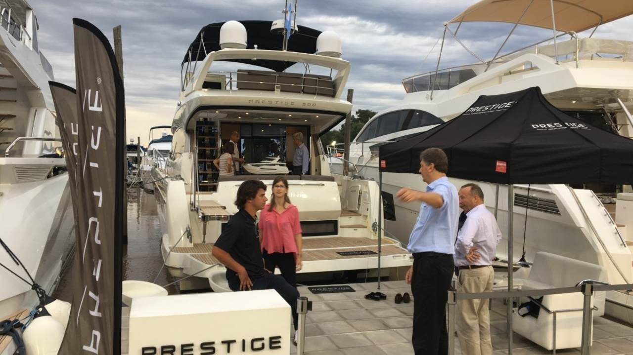 Launch of PRESTIGE Yachts at the Buenos Aires Boat Show 2