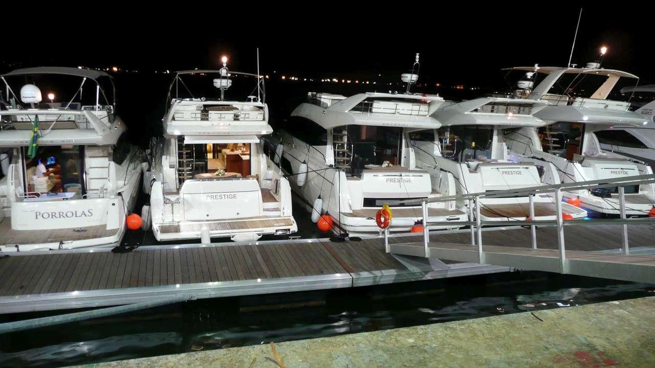 Prestige at the Rio Boat Show 2