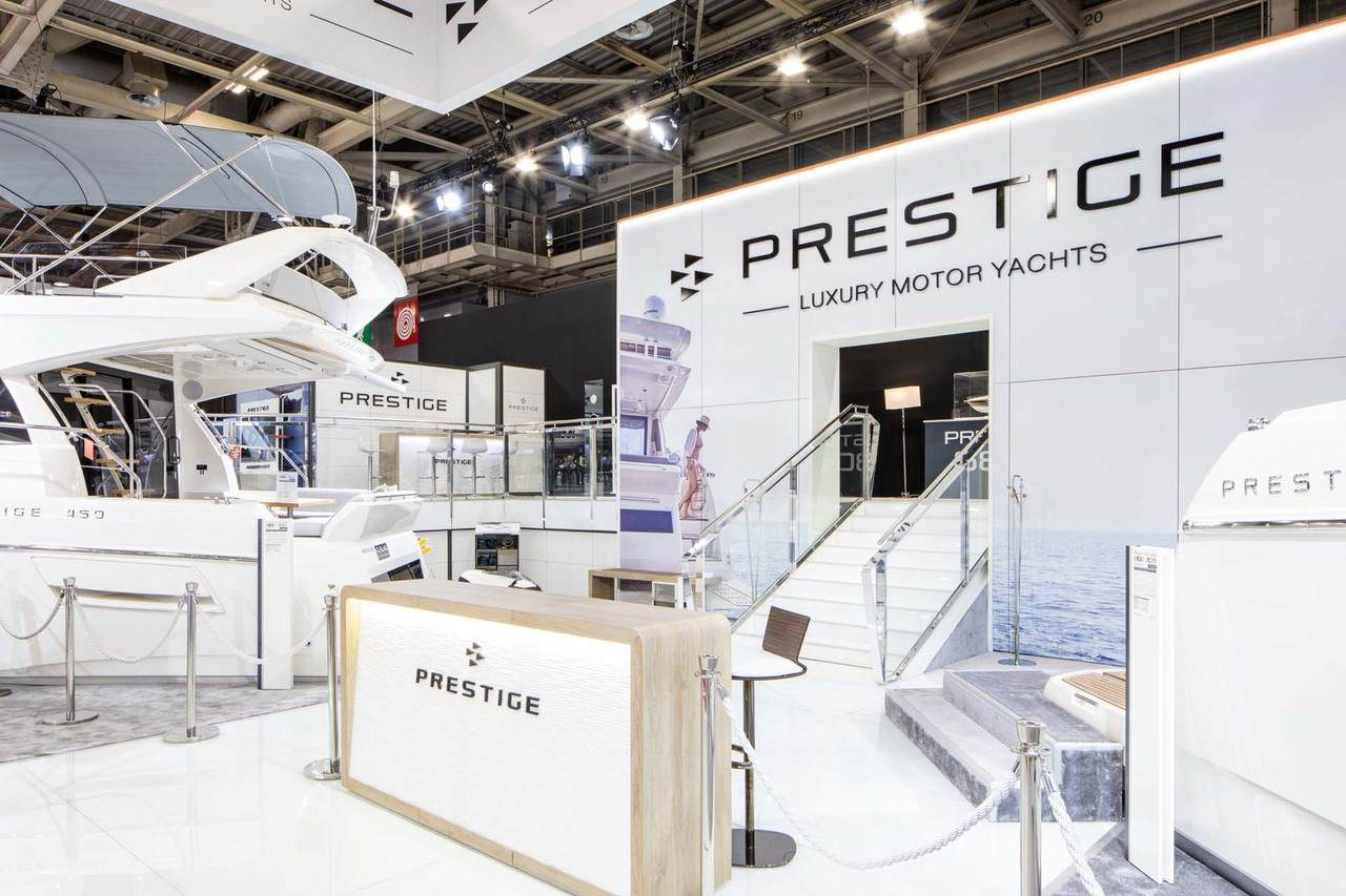 Prestige at Paris Boat Show 2