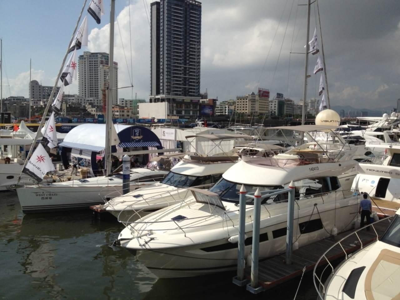 Jeanneau and Prestige in Hainan Rendez-vous boatshow 6