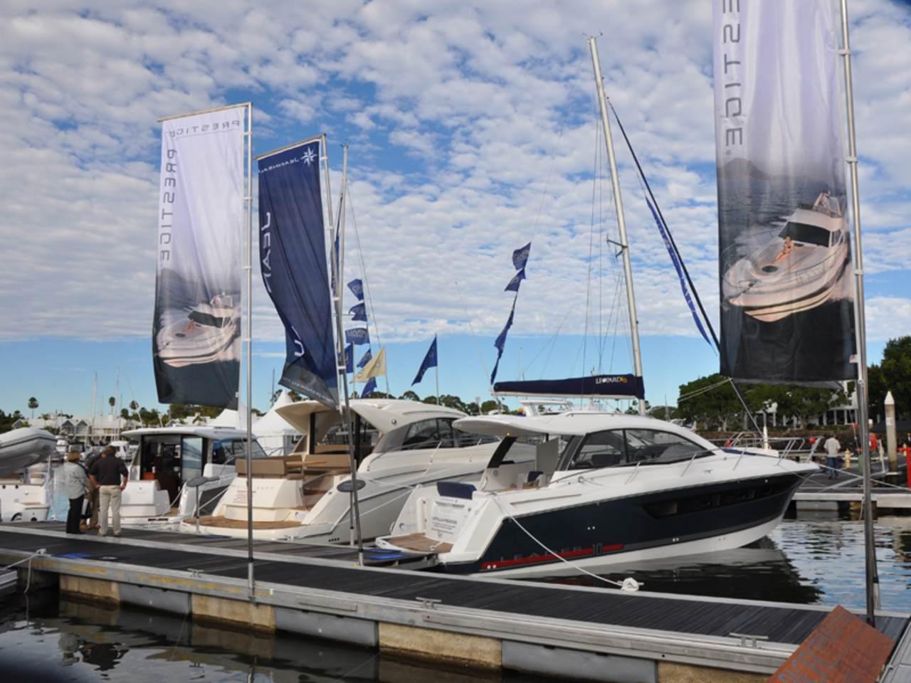 Prestige in Sanctuary Cove boat show 2012 2