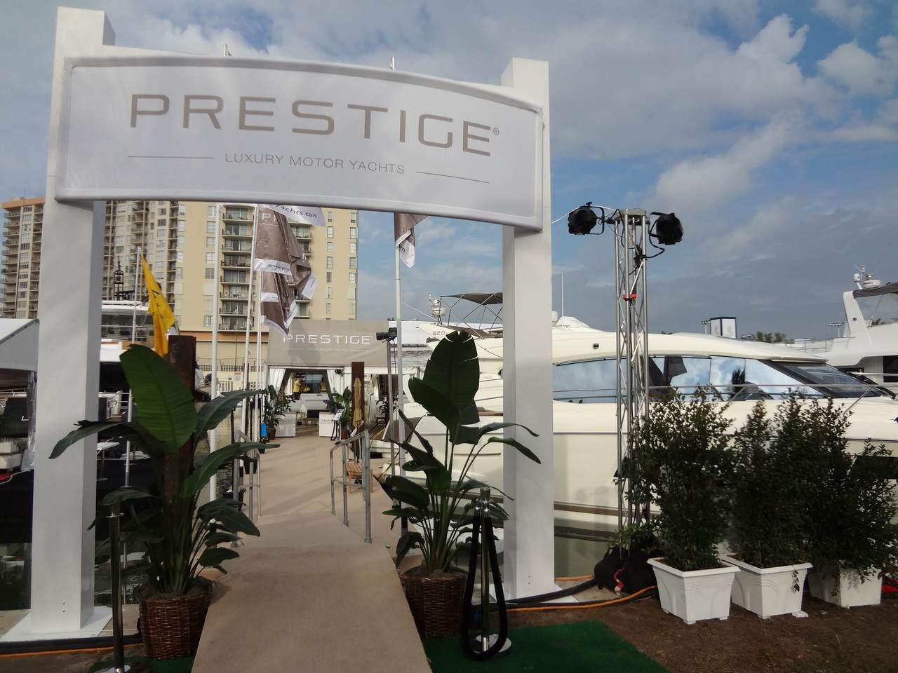 PRESTIGE in Miami Boatshow 2013 2