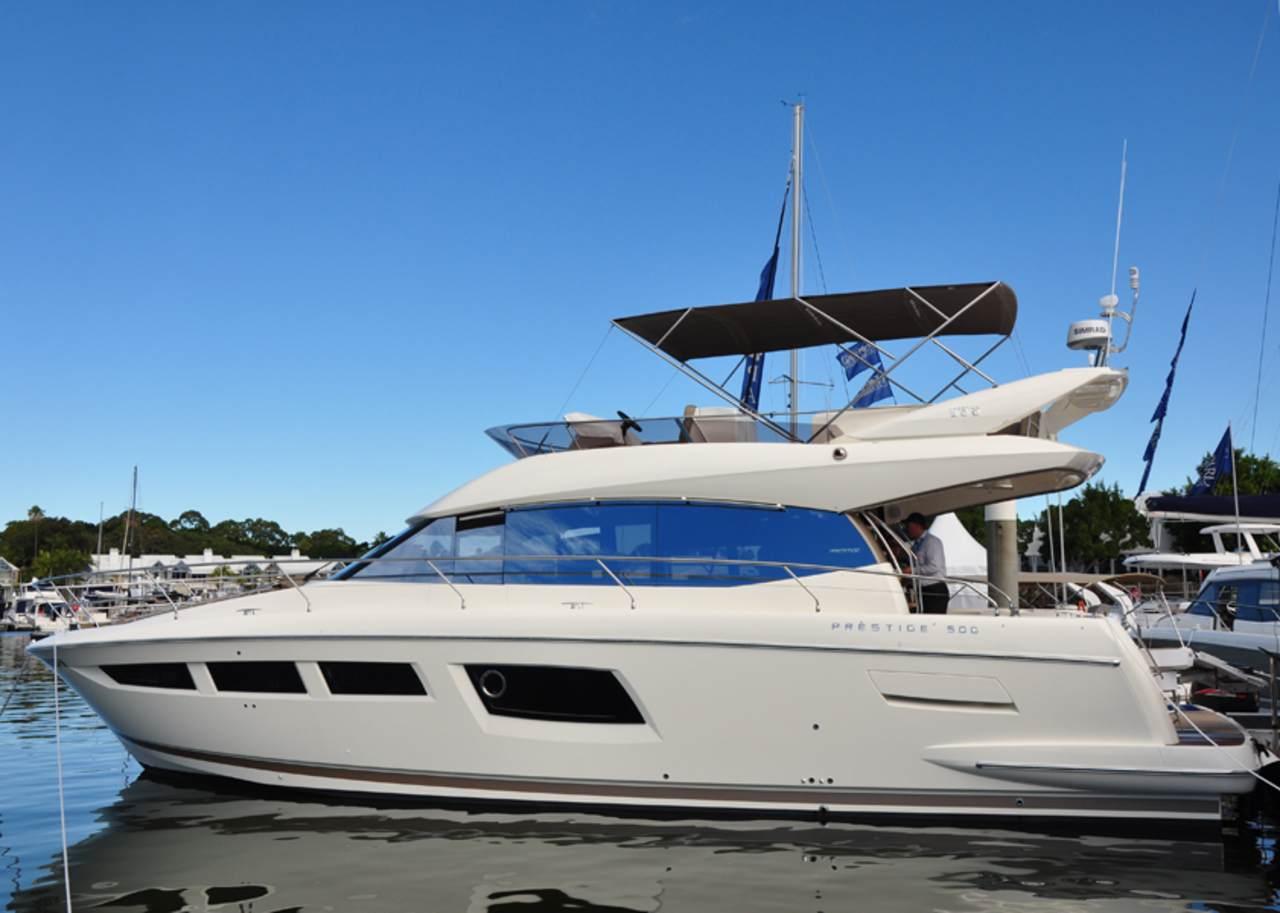 Prestige in Sanctuary Cove boat show 2012 3