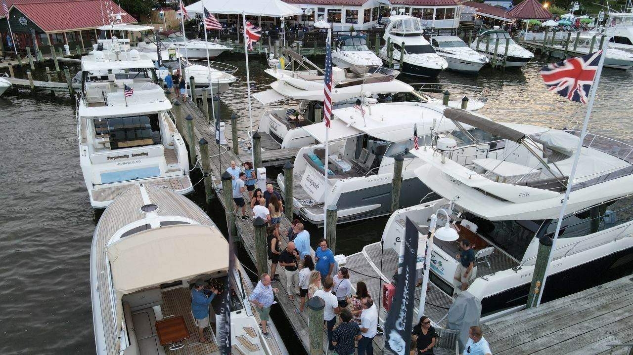 Annual Prestige Yachts Rendezvous in St. Michaels, Maryland 1