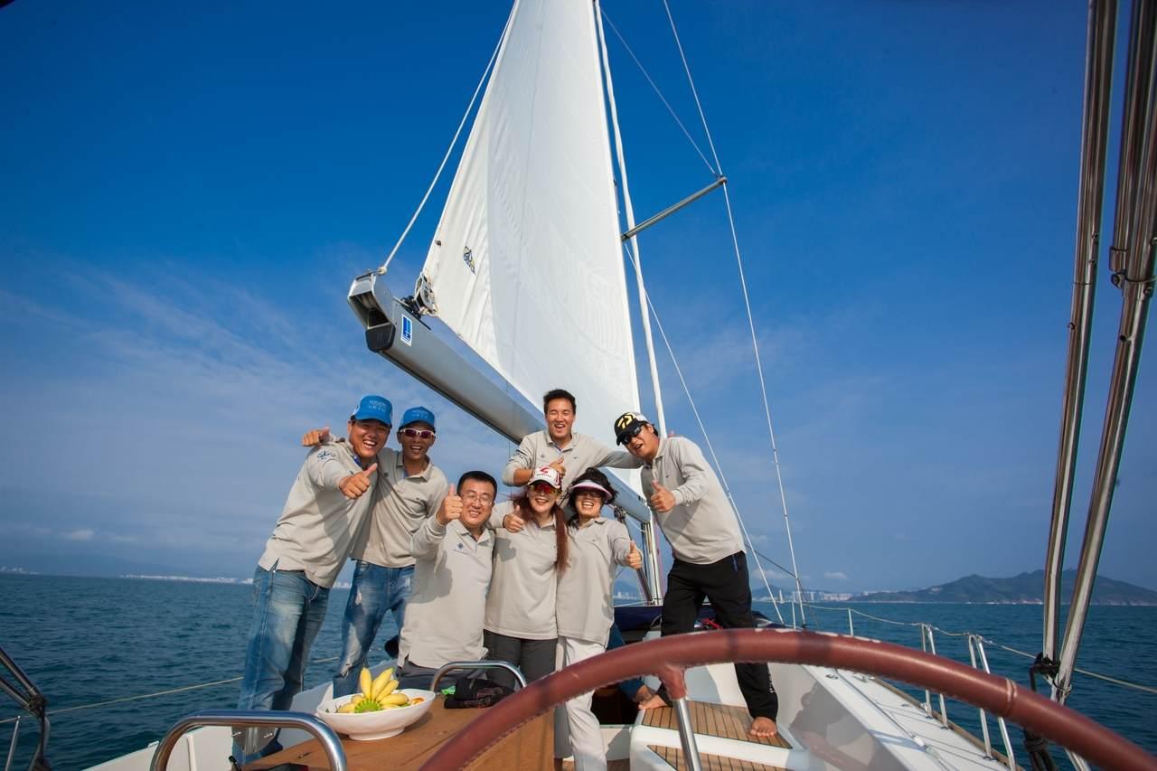 Drittes Treffen von Eigentümern von Jeanneau und PRESTIGE Yachten in China 6