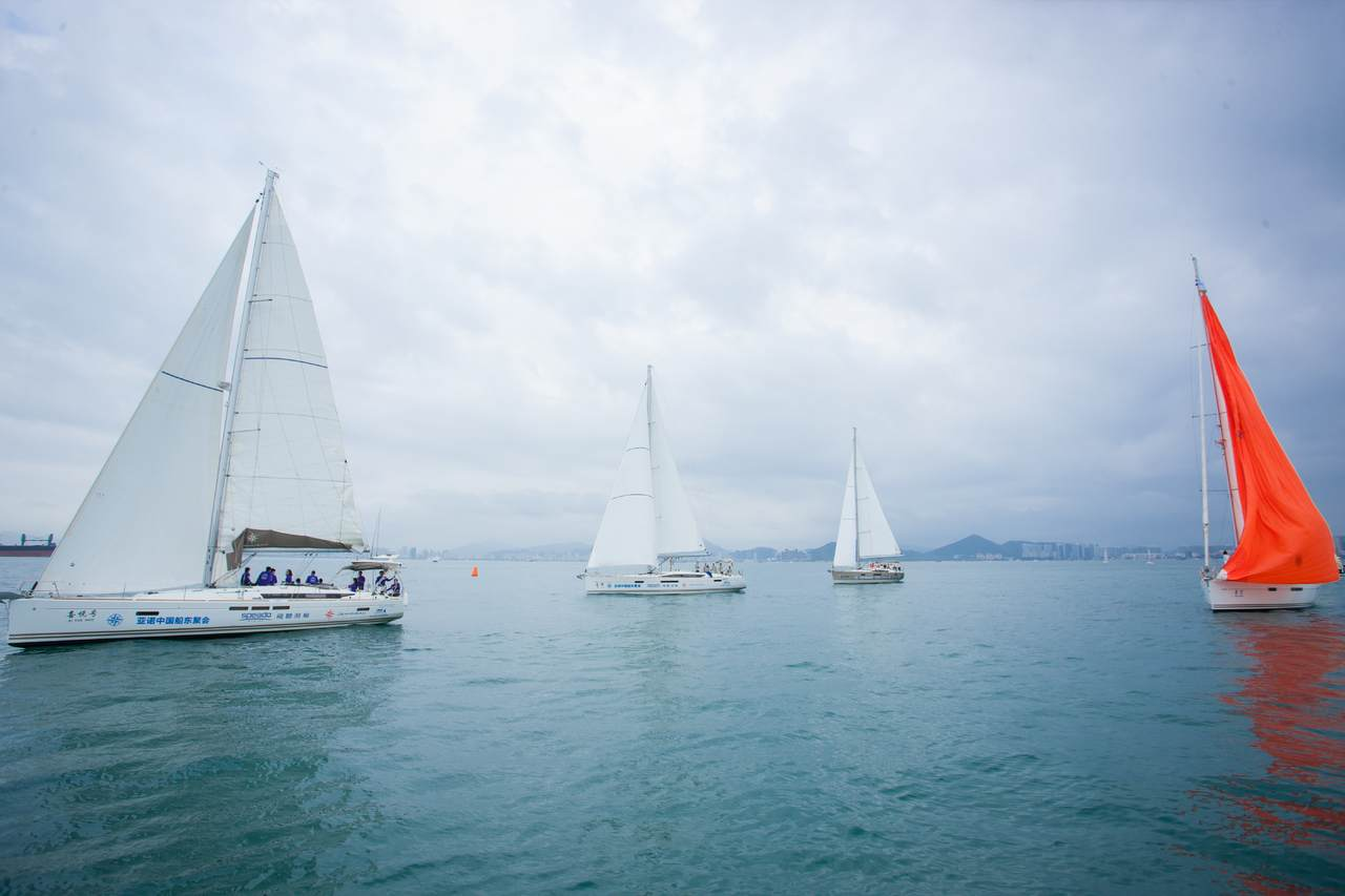 Drittes Treffen von Eigentümern von Jeanneau und PRESTIGE Yachten in China 2