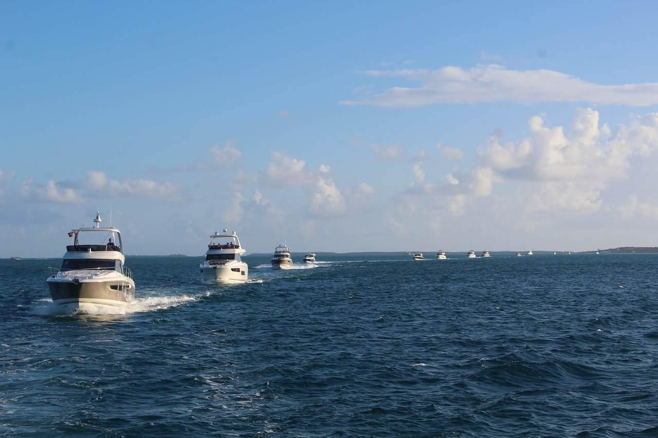 Prestige Yachts Escapade to Eleuthera with InterMarine 8